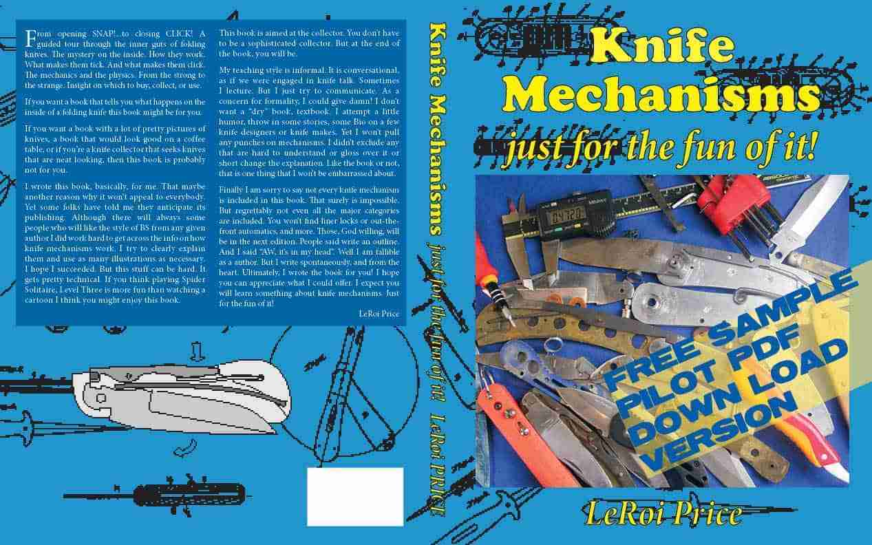 Knife Mechanism (just for the fun of it!) - Le Roi Price