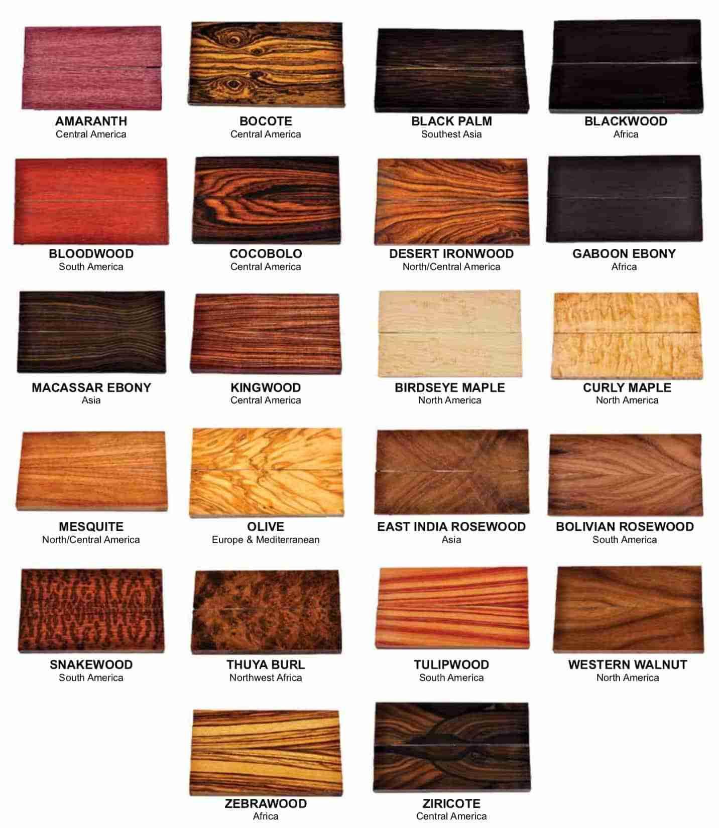 legni naturali