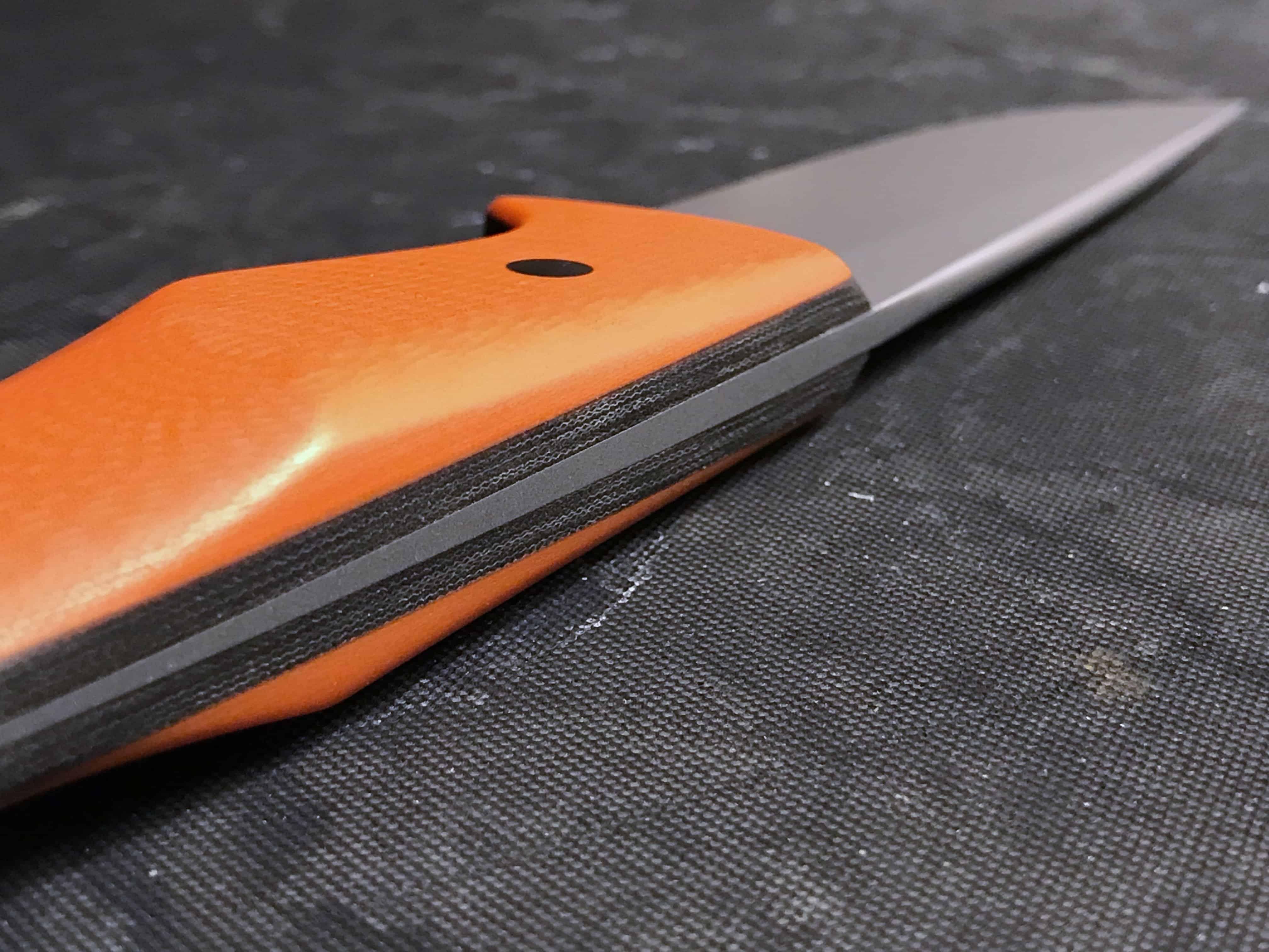 manico del coltello, L'impugnatura del manico del coltello