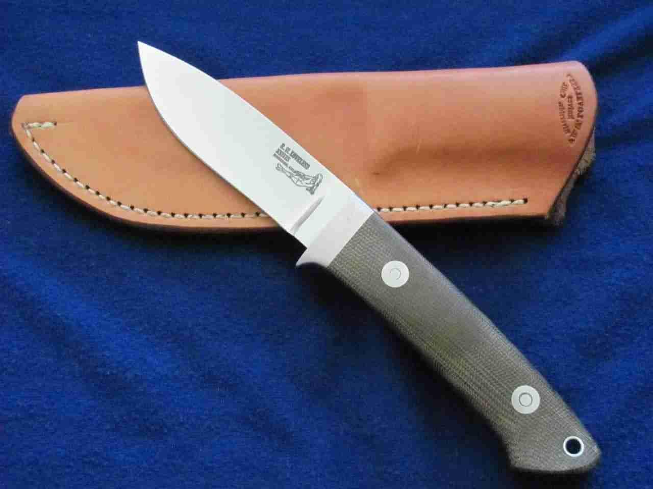 Il coltello Drop Point di Bob Loveless