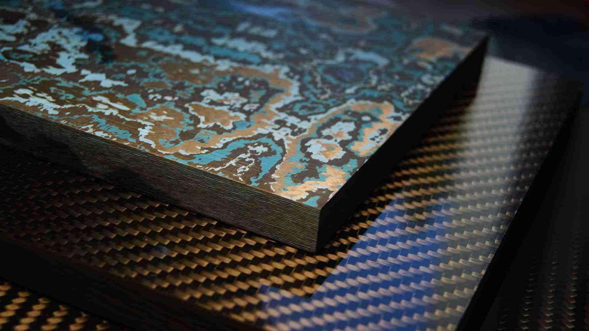 Fat Carbon Materials, i manici in carbonio composito