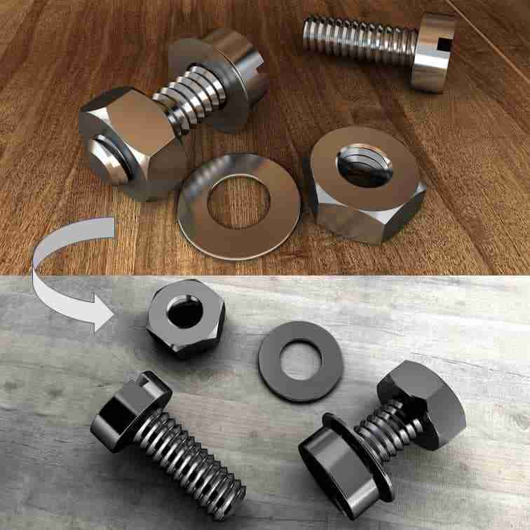 DIY per la brunitura a caldo dei metalli