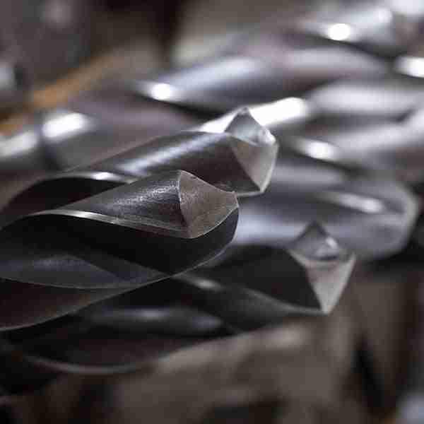 Forare l'acciaio temprato