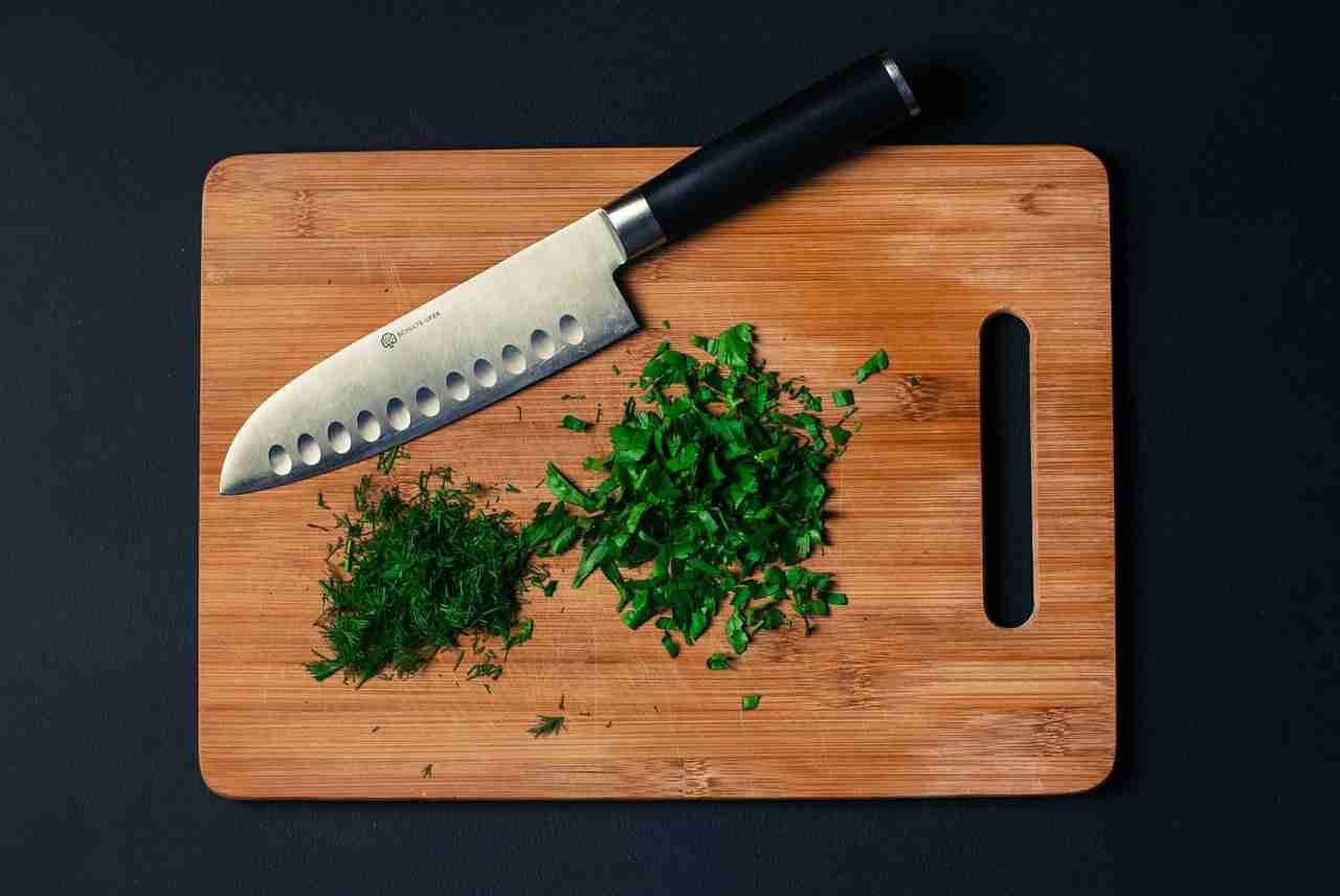 tagliere da cucina professionale